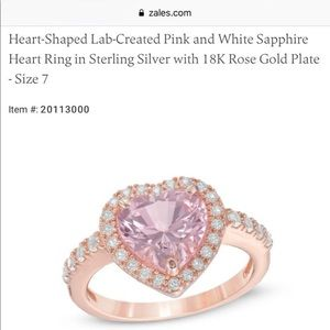 Zales Rose Gold Plated Ring